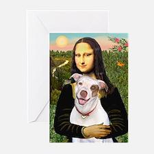 Mona's Pitbull Greeting Cards (Pk of 20)