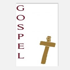 Cute Gospel Postcards (Package of 8)