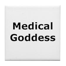 Medical Goddess Tile Coaster