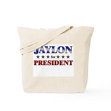 JAYLON for president Tote Bag