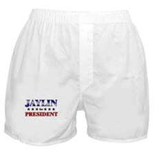 JAYLIN for president Boxer Shorts