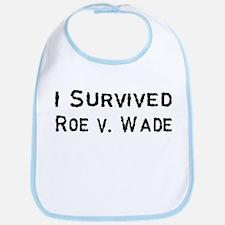 I Survived Roe v. Wade Bib