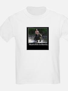 Vladimir Putin Riding A Bear T-Shirt