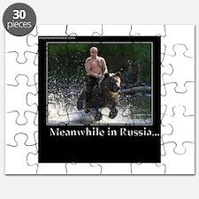 Vladimir Putin Riding A Bear Puzzle