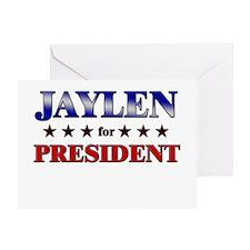 JAYLEN for president Greeting Card