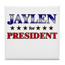 JAYLEN for president Tile Coaster