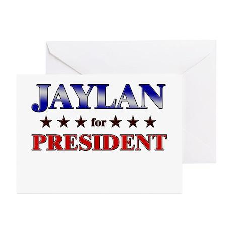 JAYLAN for president Greeting Cards (Pk of 20)