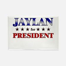 JAYLAN for president Rectangle Magnet