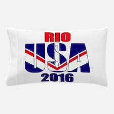 USA 2016 Rio 2a Pillow Case