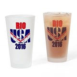 2016 rio olympic Pint Glasses