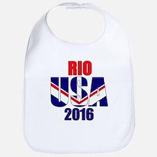 USA 2016 Rio 2a Bib
