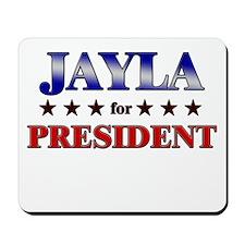 JAYLA for president Mousepad