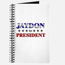 JAYDON for president Journal