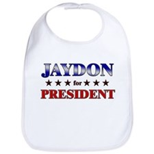 JAYDON for president Bib