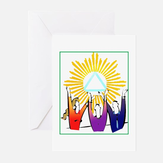 Recovery CELEBRATION Greeting Cards (Pk of 20)