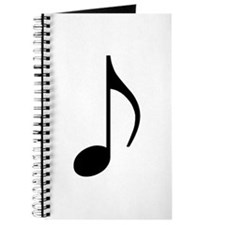 Traditional Basic Black Note Journal