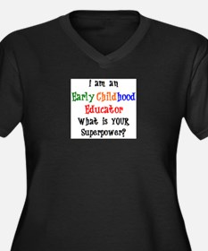 early childho Plus Size T-Shirt