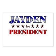 JAYDEN for president Postcards (Package of 8)