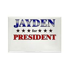 JAYDEN for president Rectangle Magnet