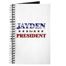 JAYDEN for president Journal