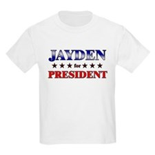 JAYDEN for president T-Shirt