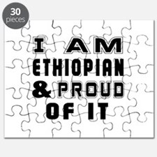I Am Ethiopian And Proud Of It Puzzle