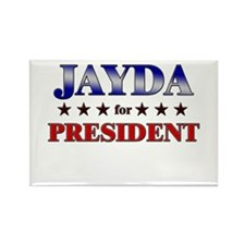 JAYDA for president Rectangle Magnet