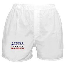 JAYDA for president Boxer Shorts