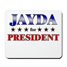 JAYDA for president Mousepad