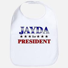 JAYDA for president Bib