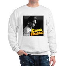 """""""Condi Rocks!"""" Dr. Condoleeza Sweatshirt"""