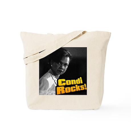 """""""Condi Rocks!"""" Dr. Condoleeza Tote Bag"""