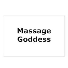 Massage Goddess Postcards (Package of 8)