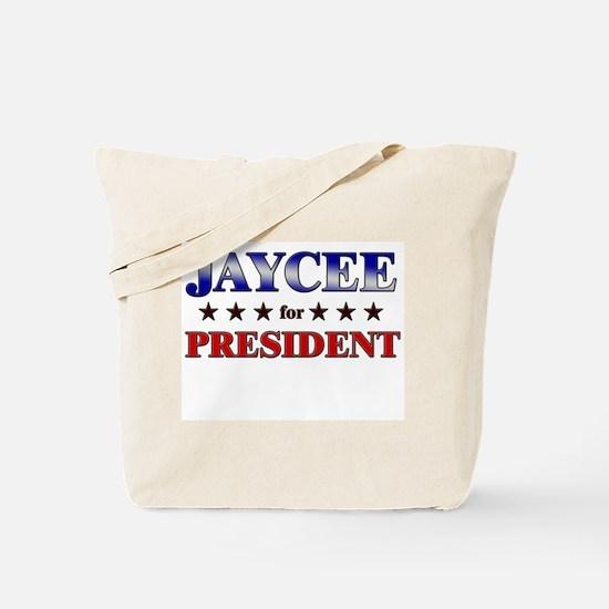 JAYCEE for president Tote Bag