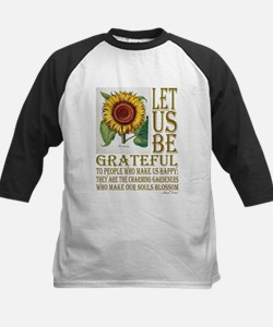 """Let Us Be Grateful"" - Marcel Prou Baseball Jersey"