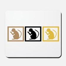 Monkey Squares Mousepad