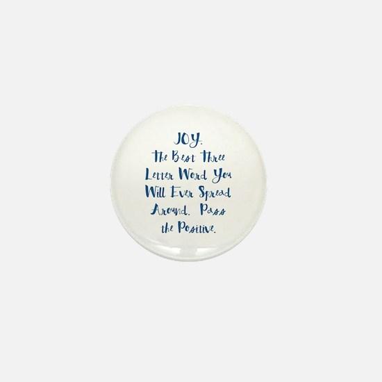 Joy Mini Button