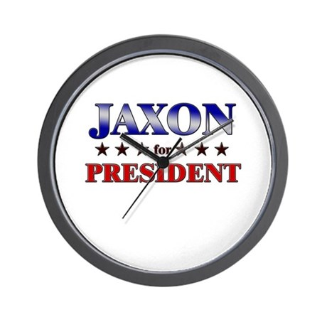 JAXON for president Wall Clock