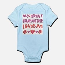 "Baby Girl ""Great Grandmother"" Infant Bodysuit"