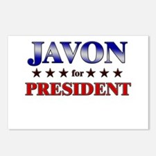 JAVON for president Postcards (Package of 8)