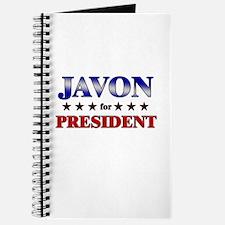 JAVON for president Journal