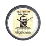 Luke Short Reward Wall Clock