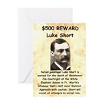 Luke Short Reward Greeting Card