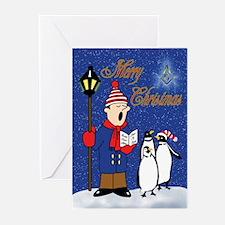 Masonic Penguins Greeting Cards (Pk of 20)