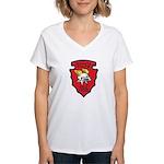 Wichita Police Motors Women's V-Neck T-Shirt