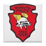 Wichita Police Motors Tile Coaster