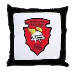 Wichita Police Motors Throw Pillow