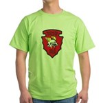Wichita Police Motors Green T-Shirt