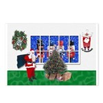 Masonic Christmas Greeting Postcards (Pk of 8)