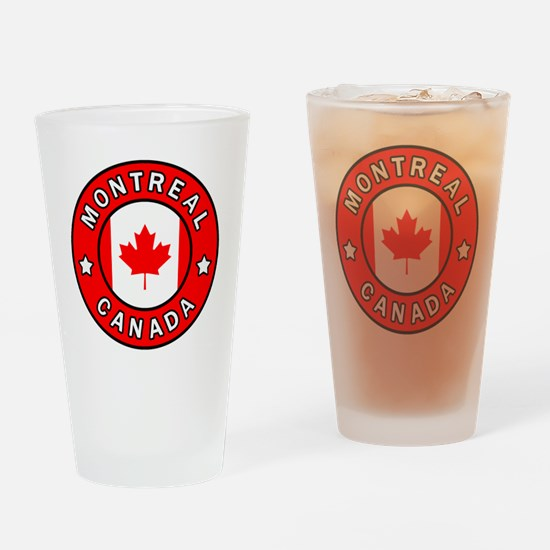 Cute Montreal Drinking Glass